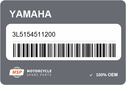Crankcase Cover 1; New # 3L5-15451-12-00 Made by Yamaha Yamaha 3L5-15451-11-00 Gasket