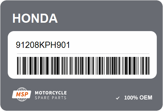 HONDA 91208-KPH-901 OIL SEAL